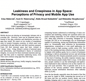 "on ""Leakiness and creepiness in app space"""