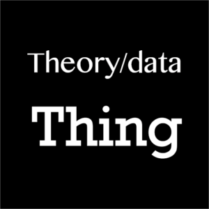 Reading Bowker on The Theory / Data thing