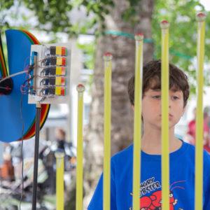 Street party and data fair on TenisonRd