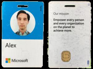 My Microsoft Smart Card