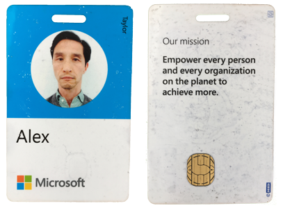 My Microsoft Smart Card