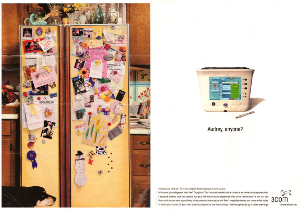 Audrey magazine advert